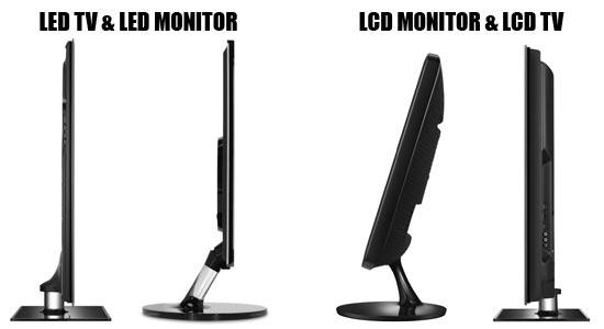 Image result for led vs lcd